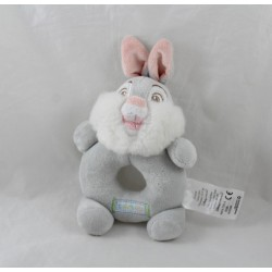 Rattle Pan Pan DISNEY STORE Thumper Thumper pink gray rabbit Bambi 13 cm