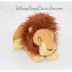 Peluche lion Simba adulte DISNEY Le Roi Lion Mufasa poils longs 23 cm