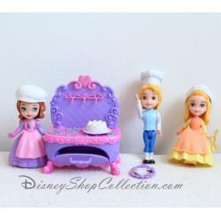 Princesa Sofia la cocina real ámbar, Sofía y James DISNEY figurita
