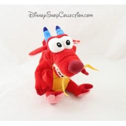Plüsch Mushu Drachen Mulan DISNEY Disney 17 cm rot
