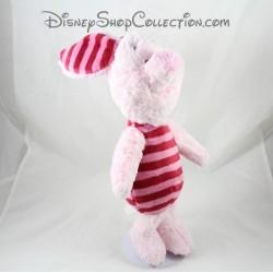 Peluche Porcinet NICOTOY Disney classique rose rayé 36 cm