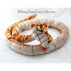 Plush snake Kaa DISNEYLAND PARIS Disney 155 cm Brown jungle book