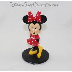 Figurine en résine Minnie DISNEYLAND PARIS Statuette Minnie classique en robe rouge Disney 15 cm