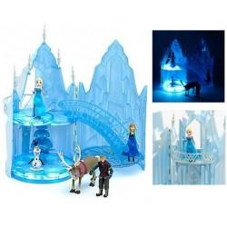 Jouet château de glace musical DISNEY STORE La Reine des neiges figurines lumineux