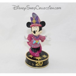 Figura resina luminosa Minnie DISNEYLAND PARIS 20 aniversario Disney 18 cm