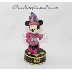 Figurine resin luminous Minnie DISNEYLAND PARIS 20th anniversary Disney 18 cm