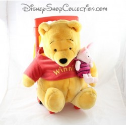 Wheel bag plush Disney Winnie the Pooh and piglet backpack Disney 40 cm