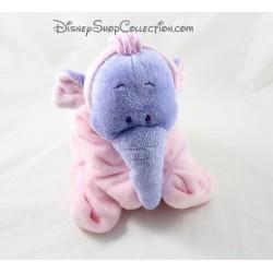 Elephant plush Lumpy DISNEY NICOTOY pink pajama efelant 23 cm