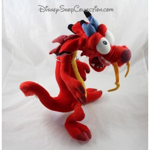 3e196b46c91 Plush dragon Mushu DISNEY Mulan red 40 cm - DisneyShopCollection
