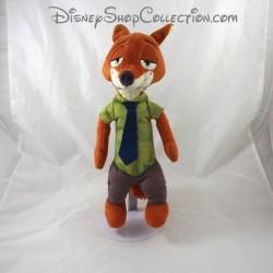 Peluche interactive renard TOMY Disney Zootopie Nick Wilde parlant 30 cm