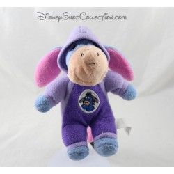 Plush donkey Eeyore DISNEY NICOTOY purple hood combination 20 cm round