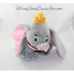 Plush gray hat DISNEY Dumbo elephant vintage yellow 26 cm