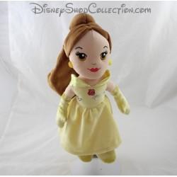 Muñeca peluche hermoso NICOTOY DISNEY bella y la bestia vestido amarillo 32 cm