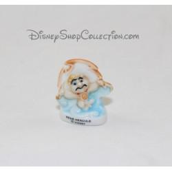Fève bébé Hercule  DISNEY Hercule blanc bleu 3 cm