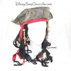 Disfrazan de piratas del Caribe Jack Sparrow sombrero Disneyland