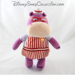 Felpa 3 púrpura 2 cm hipopótamo peluche de Disney NICOTOY doctor Hallie