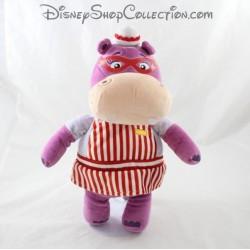 Peluche Hallie l'hippopotame NICOTOY Disney Docteur la peluche violet 3 2 cm