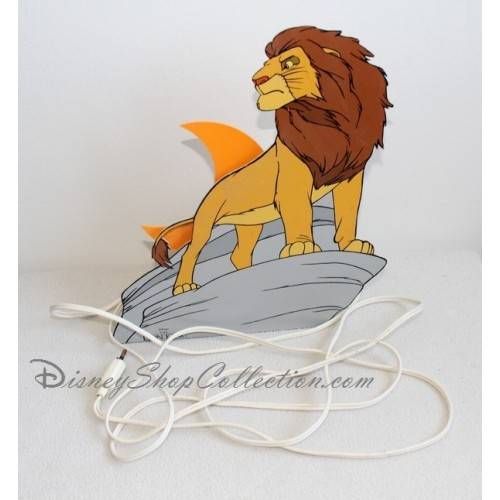 lampe veilleuse mufasa ou simba disney le roi lion 32 cm disneysh. Black Bedroom Furniture Sets. Home Design Ideas