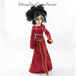 Mutter Gothel DISNEY STORE Rapunzel Puppe freches rotes Kleid