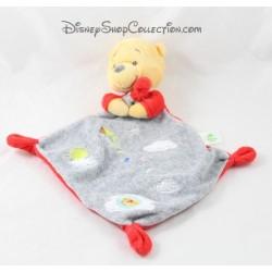 Doudou Winnie l'ourson NICOTOY nuage rouge gris cerf volant Disney