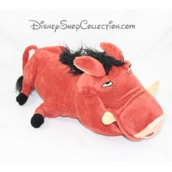 Peluche facocero Pumba DISNEYLAND Parigi Lion King Disney 34 cm marrone