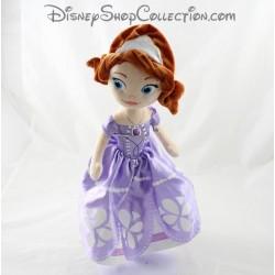Peluche poupée NICOTOY Disney Princesse Sofia robe violette 33 cm