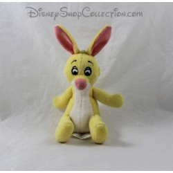 Mini plush rabbit DISNEYLAND PARIS Winnie the Pooh yellow Disney 12 cm