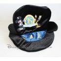 Chapeau Mickey lumière DISNEYLAND PARIS noir 15 magical years adulte 28 cm