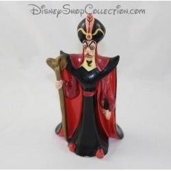 Figurine céramique Jafar DISNEY Aladdin noir rouge 22 cm