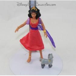 Figurine articulée Le Bossu de Notre Dame DISNEY Esmeralda et Djali