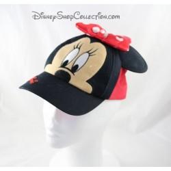 Child size Minnie DISNEYLAND PARIS Disney embossed ears Cap