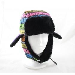 Chapka Mickey DISNEYLAND PARIS bonnet multicolore avec oreilles