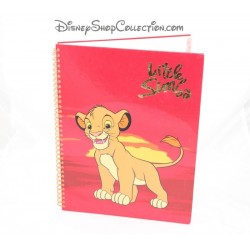 Simba DISNEY STORE the King lion Little Simba A4 spiral notebook