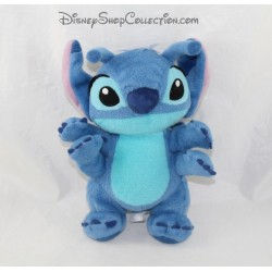 Peluche Stitch DISNEY PARKS Lilo et Stitch bleu 4 bras 26 cm