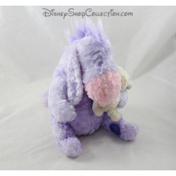 Plush Eeyore DISNEY STORE sheep purple rose coat of arms 22 cm