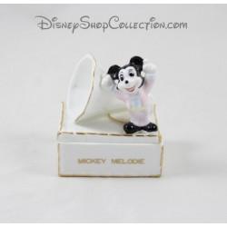 Petite boite WALT DISNEY PRODUCTIONS Mickey Melodie porcelaine 8 cm