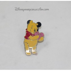 Pin's DISNEYLAND PARIS heart to Pooh: Pooh 4 cm