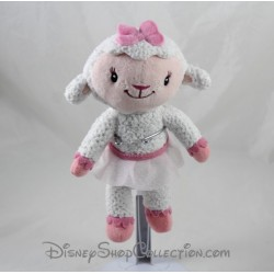 Peluche mouton Caline DISNEY Docteur la peluche 21 cm