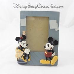 Vintage de foto marco resina demonios & MERVEILLES Disney Minnie Mickey