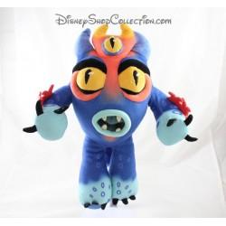 Peluche Fred DISNEY STORE Les nouveaux héros monstre bleu 37 cm