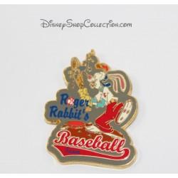 Broches de equipo de béisbol de DISNEYLAND PARIS de Roger Rabbit