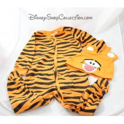 2 piece set Tigger DISNEY H & M pajama + cap 9-12 months