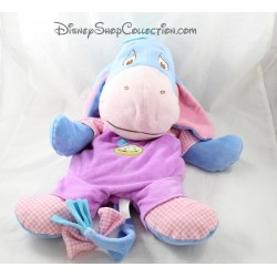 Plush Eeyore DISNEY NICOTOY range Pajamas purple radish overalls 50 cm