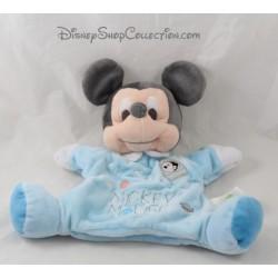 Doudou marionnette Mickey Mouse DISNEY BABY étoile planètes fusée
