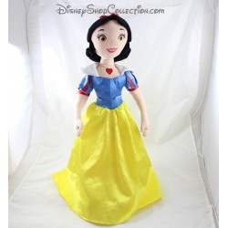 Doll plush DISNEY STORE dress yellow blue 54 cm Snow White