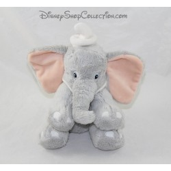 Gray collar Dumbo DISNEY STORE Dumbo elephant stuffed white 20 cm