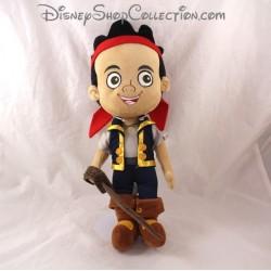 Peluche Jake DISNEY STORE Jake et les pirates du Pays imaginaire