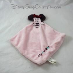Doudou plat Minnie CARTOON CLUB Disney rose 29 cm