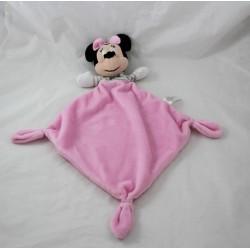 Flat blankie Minnie DISNEY NICOTOY Rhombus pink grey 40 cm