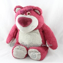 Teddy bear Lotso DISNEY STORE Toy Story Pink Strawberry scent 32 cm